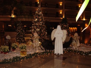Living Statues, Angel Parties, Christmas and Holidays