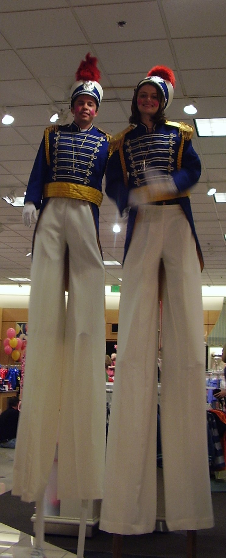 Stilt Walkers, Toy Soldiers, Holiday Performers