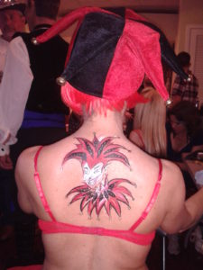Jester Body Art