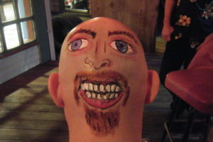 2 Faced Bald Guy