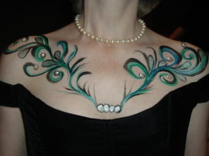 Blacktie,Evening Gown Gala Bodyart