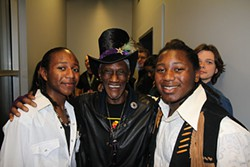 Bernie Worrell inducted The Peterson Brothers @ the Austin Music Awards SXSW 2013