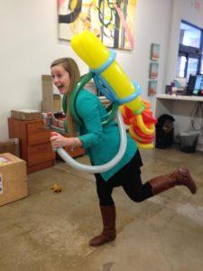 Balloon Jet Pack