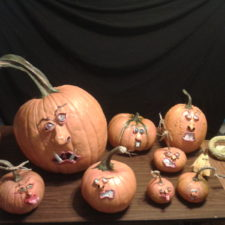Pumpkins by Mott of Art for Your Head!