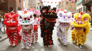 Chinese Dragon & Lion Dancers